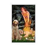 Fairies/ Italian Spinone Sticker (Rectangle)
