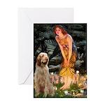 Fairies/ Italian Spinone Greeting Card