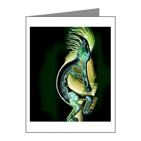 Kokopelli Night Note Cards (Pk of 10)