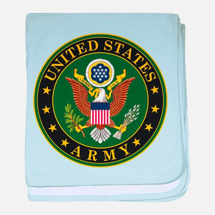 Cute Usarmy baby blanket