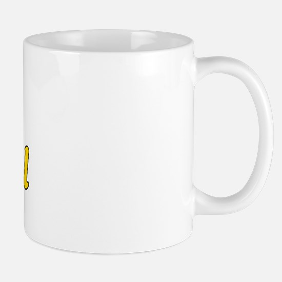 Retro San Gabriel (Gold) Mug