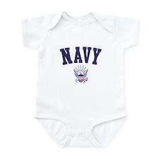 US NAVY Infant Bodysuit