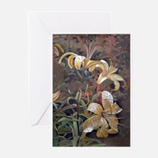 Tiger Lilies Greeting Cards (Pk of 10)