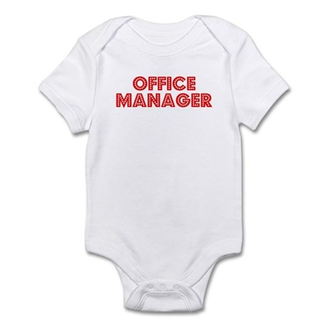 Retro Office Mana.. (Red) Infant Bodysuit