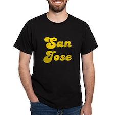 Retro San Jose (Gold) T-Shirt