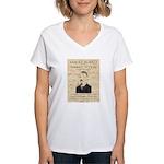 Sam Ketchum Women's V-Neck T-Shirt