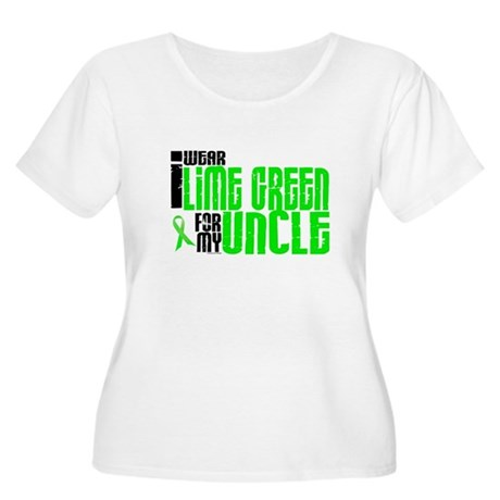I Wear Lime Green For My Uncle 6 Women's Plus Size