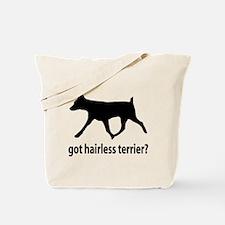 Got Hairless Terrier? Tote Bag