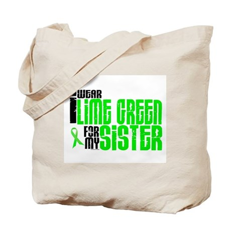I Wear Lime Green For My Sister 6 Tote Bag