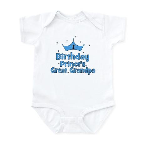 1st Birthday Prince's Great G Infant Bodysuit