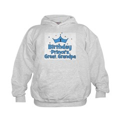 1st Birthday Prince's Great G Hoodie