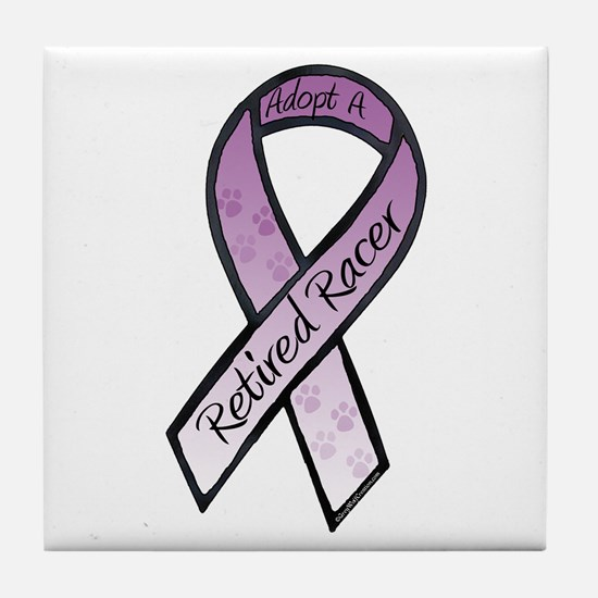 Racer Purple Tile Coaster