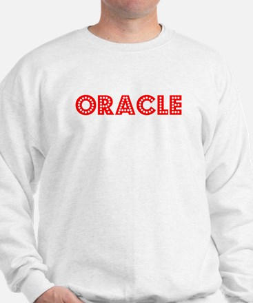 Retro Oracle (Red) Jumper