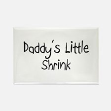 Daddy's Little Shrink Rectangle Magnet