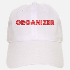 Retro Organizer (Red) Baseball Baseball Cap