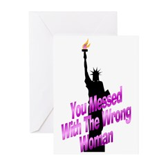 You Messed Greeting Cards (Pk of 10)