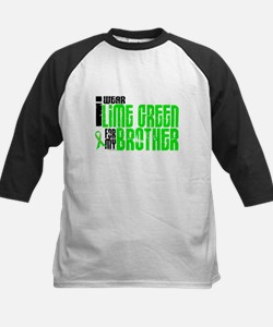 I Wear Lime Green For My Brother 6 Tee