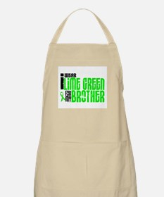 I Wear Lime Green For My Brother 6 BBQ Apron