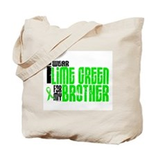 I Wear Lime Green For My Brother 6 Tote Bag