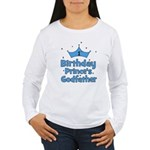 1st Birthday Prince's Godfath Women's Long Sleeve