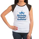 1st Birthday Prince's Godfath Women's Cap Sleeve T