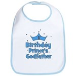1st Birthday Prince's Godfath Bib