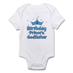 1st Birthday Prince's Godfath Infant Bodysuit