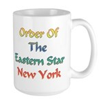 New York OES Large Mug