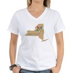 New York OES Women's V-Neck T-Shirt