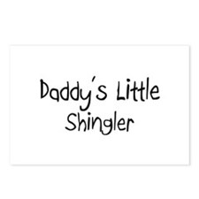 Daddy's Little Shingler Postcards (Package of 8)
