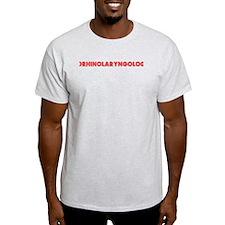 Retro Otorhinolar.. (Red) T-Shirt