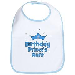 1st Birthday Prince's Aunt! Bib