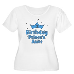 1st Birthday Prince's Aunt! T-Shirt