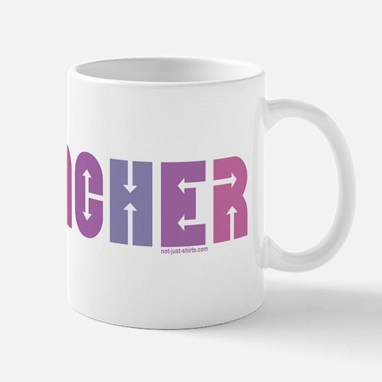 Geocacher Arrows Pink Mug