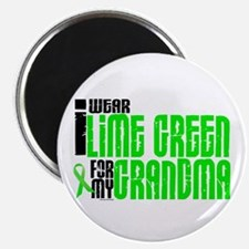 I Wear Lime Green For My Grandma 6 Magnet