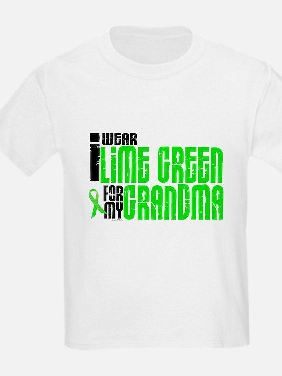 I Wear Lime Green For My Grandma 6 T-Shirt