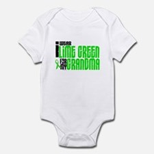 I Wear Lime Green For My Grandma 6 Infant Bodysuit