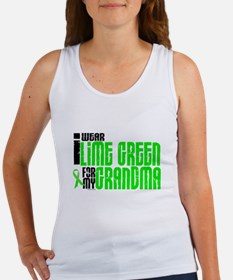 I Wear Lime Green For My Grandma 6 Women's Tank To