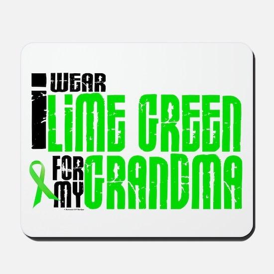 I Wear Lime Green For My Grandma 6 Mousepad