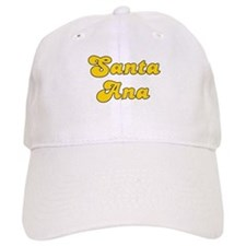 Retro Santa Ana (Gold) Baseball Cap