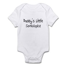Daddy's Little Semiologist Infant Bodysuit