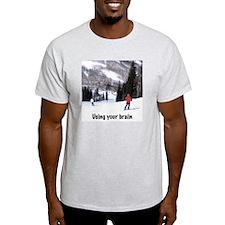 Using Brain T-Shirt