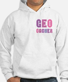 Geocacher Arrows Pinks Hoodie