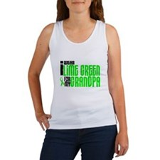 I Wear Lime Green For My Grandpa 6 Women's Tank To