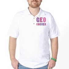 Geocacher Arrows Pinks T-Shirt