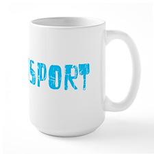 Williamsport Faded (Blue) Mug