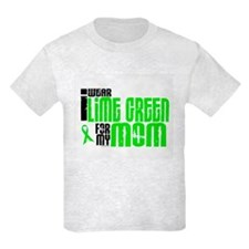 I Wear Lime Green For My Mom 6 T-Shirt