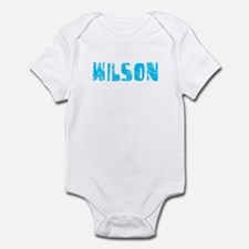 Wilson Faded (Blue) Infant Bodysuit