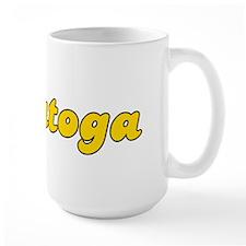 Retro Saratoga (Gold) Mug