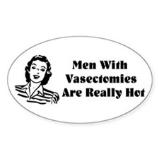 Men With Vasectomies Decal